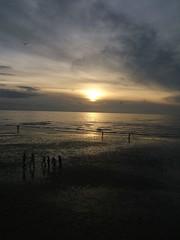Blackpool sunset