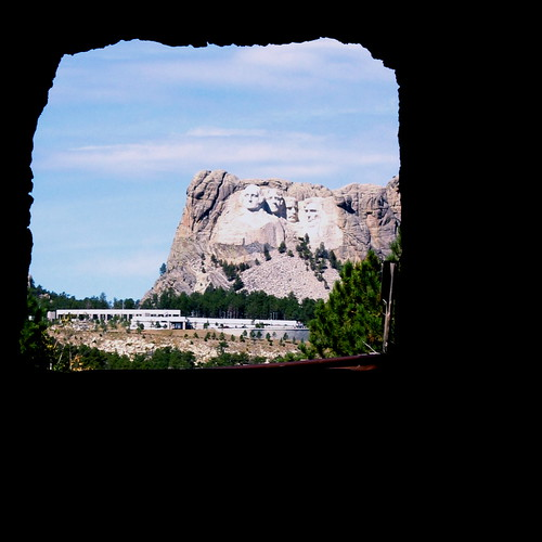 Mt. Rushmore with Tunnel by Terry Bain