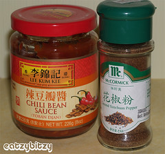 Mapo Tofu Condiments