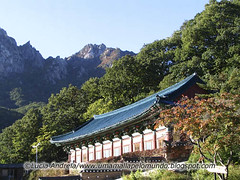 Templo tradicional coreano