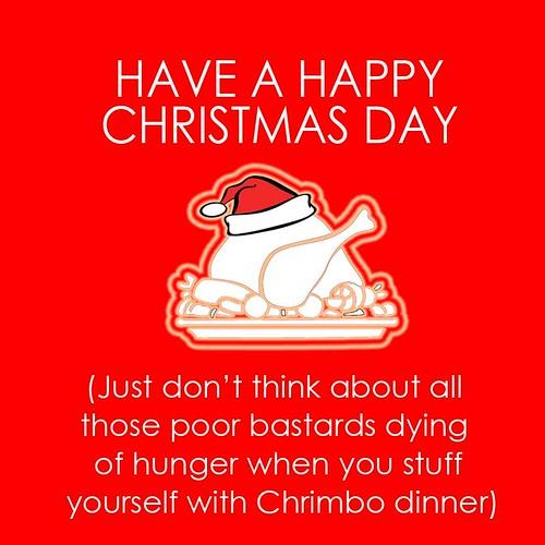 Christmas card dinner