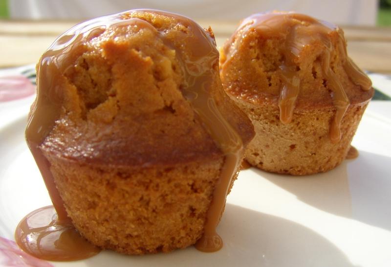 Dulce de Leche Mini-Muffins