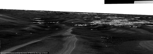 Opportunity Sol 630 - Approaching Erebus West End