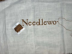 Home of a needleworker wip
