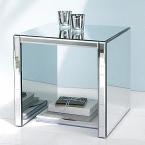 Fantastic Mirrored Side Table At West Elmu2013 Perfect For Adding A Dash Of  Glam Deco To Your Homeu2026