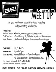 Be The Media Flyer