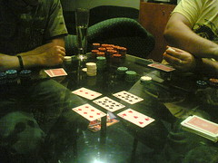 poker at Simons