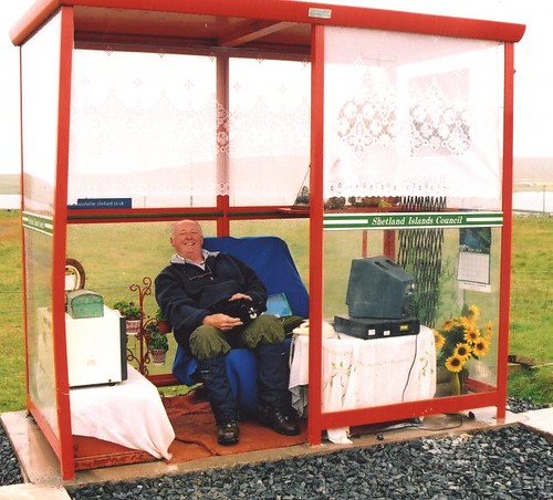 Unst Bus Shelter, Shetland