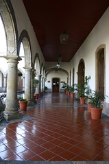 Guadalajara public building walkway