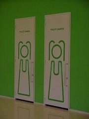 Dames toilet in de Euroborg is een plaatje