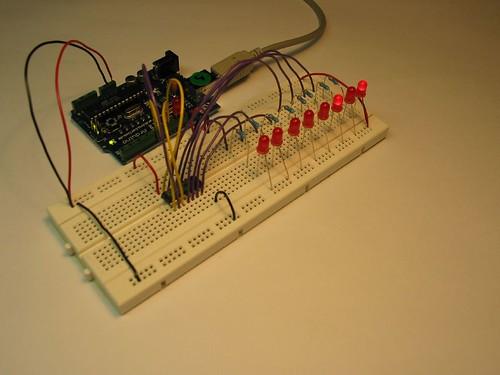 Arduino leddriver