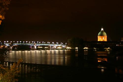 Pont St. Pierre et Dome de la Grave à Toulouse