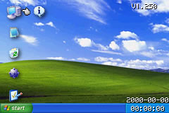 My GBA desktop