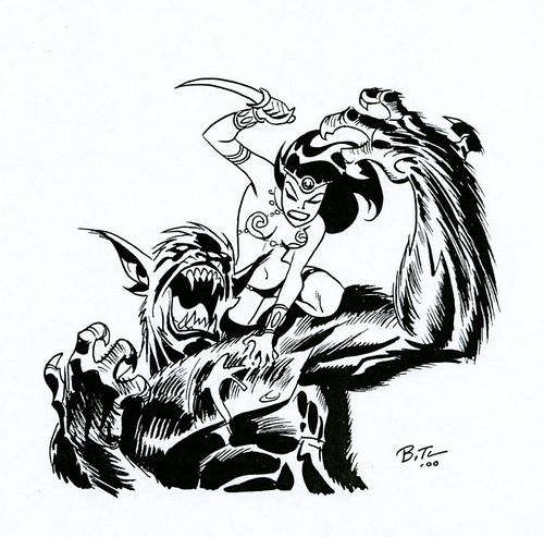 Dejah Toris (Bruce Timm -sketch)