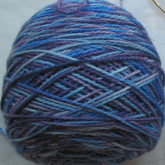 Fleece Artist sock yarn