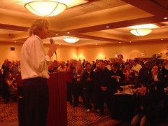 Adam Curry, the Podfather speaks on the awards ceremony