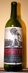 prosperity red cabernet sauvignon