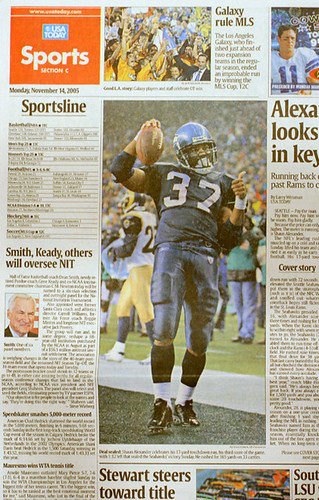 my 1st usa today sports cover