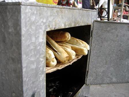 hot bread and pate oven