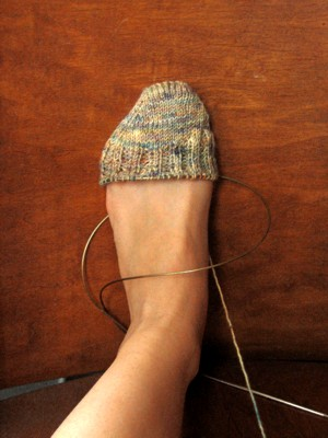 koigu toe up socks 1