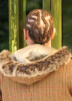 Kevin federline w nowej fryzurze