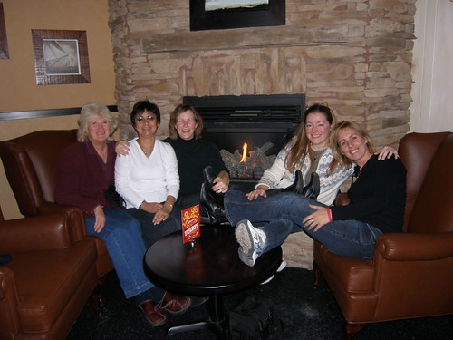 Jocelyn, Christine, Heather, Natasha and Trish