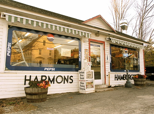 Harmon's Lunch and Hamburgers, Falmouth Maine.