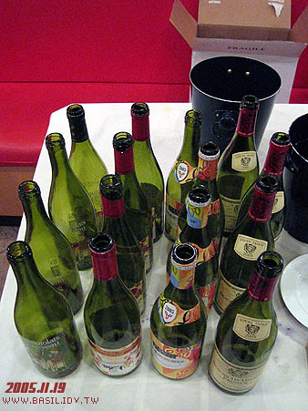 Beaulolais空瓶