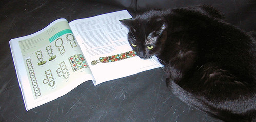 Melvin like beads too!