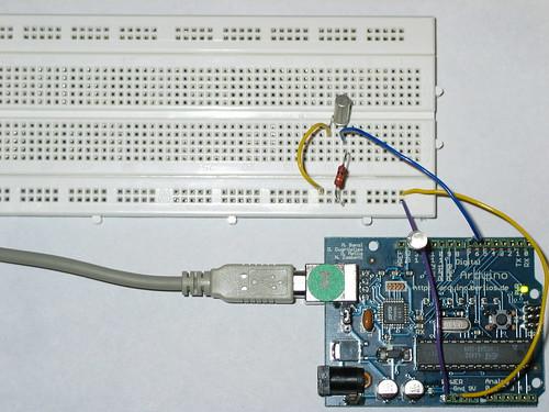 arduino tiltsensor circuit