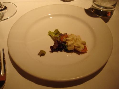 Birthday dinner at Delmonico - Venetian Hotel
