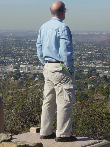 overlooking El Cajon