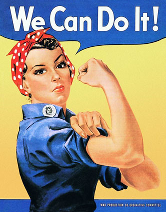 Rosie Riveter Tin