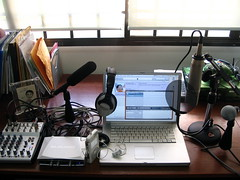 the mrbrown show Podcast Studio v4