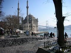 mosque in ortaköy