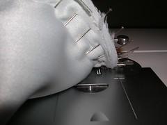under stitching
