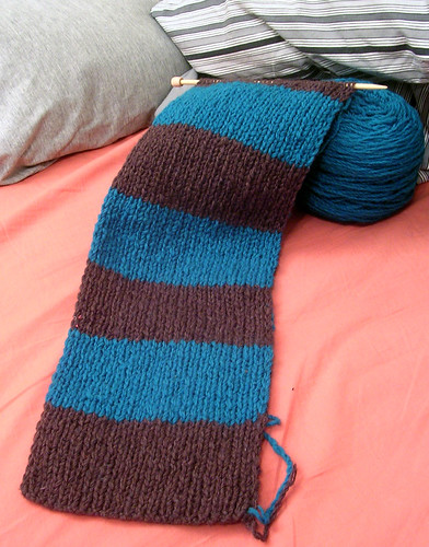 Beaverslide Scarf Progress