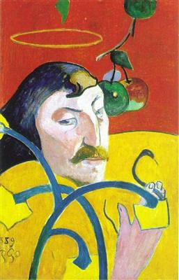 Paul Gauguin, Self Portrait with Halo