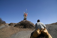 entering tibetian area