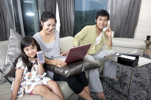 하나로텔-SKT 결합상품 출시