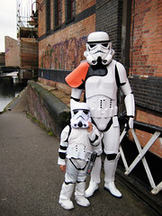 Aren't you a little short for a stormtrooper? photo by Simon Crubellier