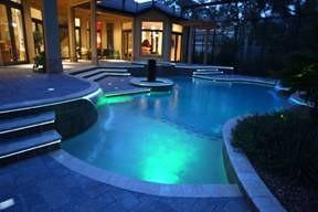 piscina led