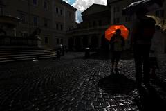 Roma buia: ombrello photo by Zioluc