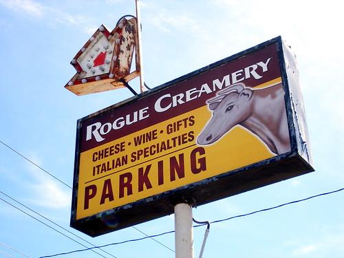 Creamery Signage