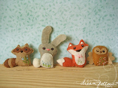 more woodland animals! photo by merwing✿little dear