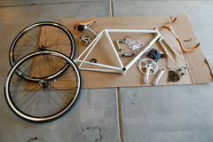 Raleigh Techium Fixed Gear Build photo by j_tenkely