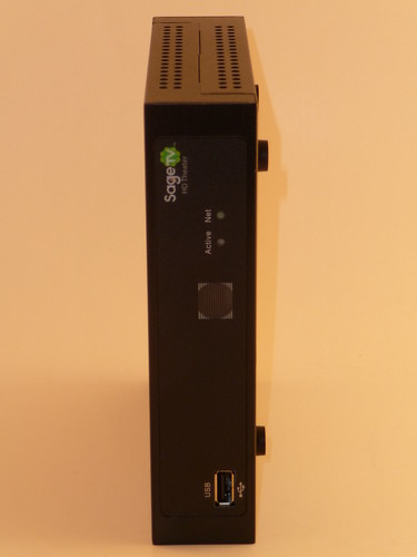 SageTV HD200 on side