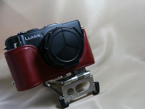 DMC-LX3 with Eveready Case RED 1/3