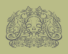 Apparel Design: Skull Snake Decor photo by shaire productions