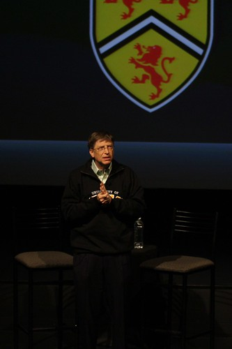 Bill Gates at U of W